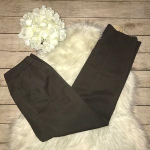 Lafayette 148 Brown Trouser Pants Career Wear
